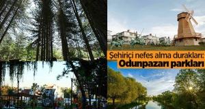 Şehiriçi nefes alma durakları: Odunpazarı parkları