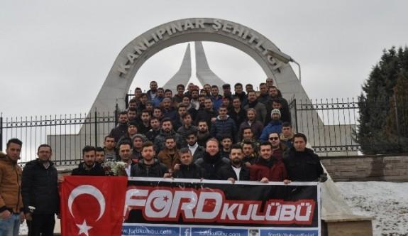 Ford Kulübü üyelerinden anlamlı ziyaret