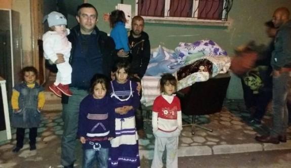 Ülkü Ocakları'ndan Türkmen ailelere yardım