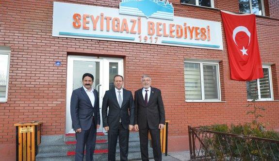 Geyve Belediye Başkanından Seyitgazi'ye ziyaret