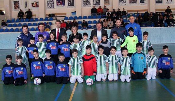 Minikler Futsal Şölenine hazır