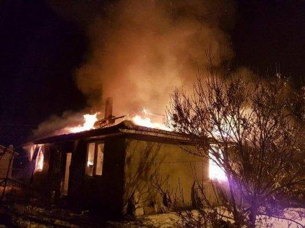 Sandıklı'daki yangında büyük hasar