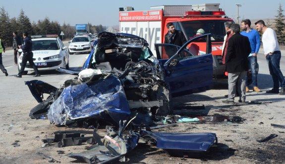 3 kardeşi kaza ayırdı