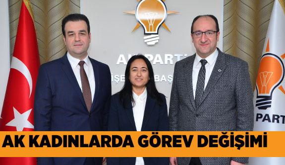 AK Parti Tepebaşı İlçe Kadın Kolları Başkanlığına Neşe Karademir getirildi