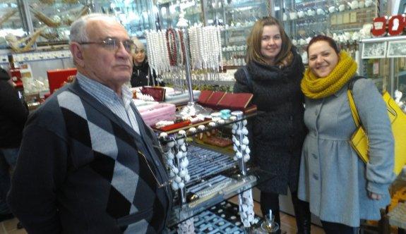 Bulgar turistler lületaşına hayran kaldı