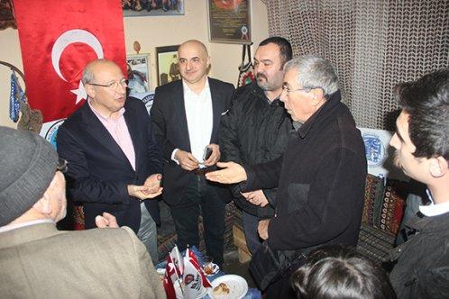 CHP'liler Bileciklilerden destek istedi
