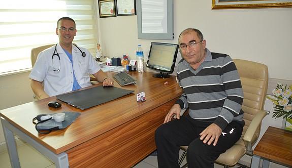 Kalbi sağda olan hastaya başarılı operasyon