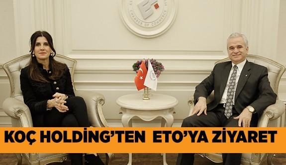 Koç Holding, Başkan Güler'i makamında ziyaret etti