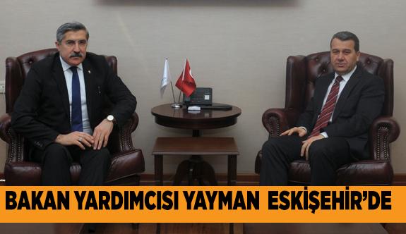 PANEL İÇİN ESKİŞEHİR'E GELDİ
