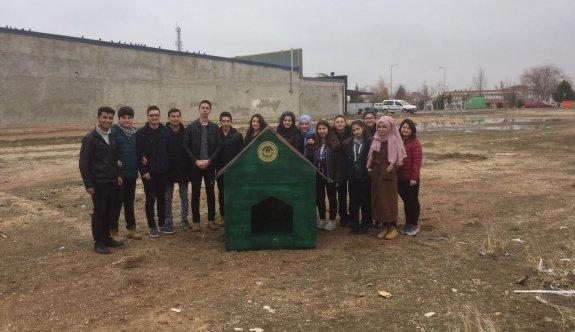 Odunpazarı hayvansever öğrencilerle el ele