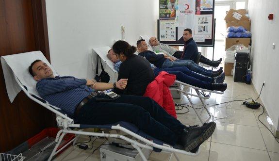 Tepebaşı'ndan kan bağışına destek