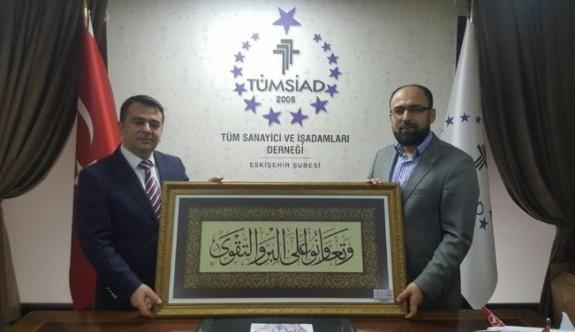 THY yetkililerinden TÜMSİAD'a ziyaret