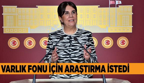 VARLIK FONU'NU MECLİS'E TAŞIDI