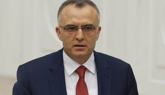Ağbal:Bütçe şubatta 6.8 milyar TL açık verdi