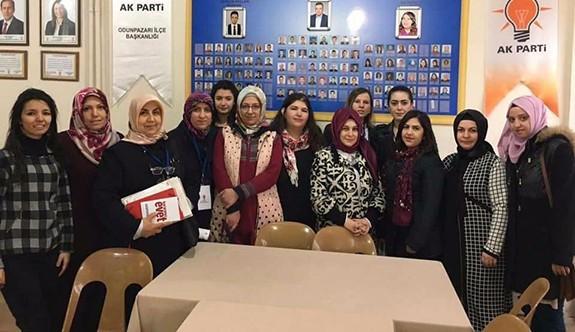 AK kadınlar referandum startını verdi