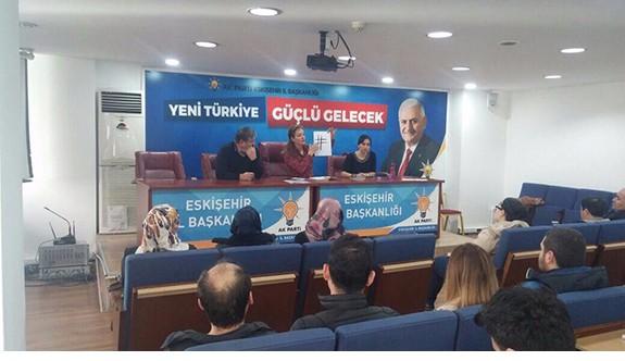 AK Parti medya birim başkanları toplandı