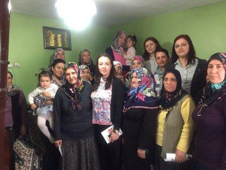 AK Kadınlar Erenköy'de Evet'i anlattı