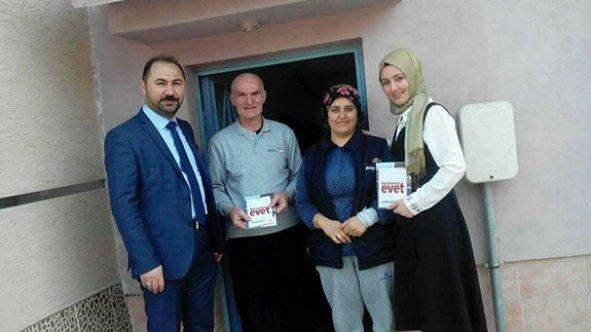 AK Parti referandum çalışmalarını sürdürüyor