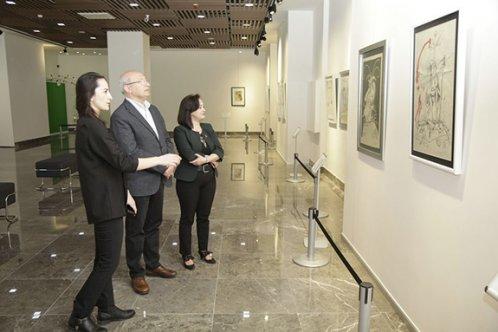 Çakırözer Çağdaş Sanatlar Galerisi ve Salvador Dali Sergisini gezdi