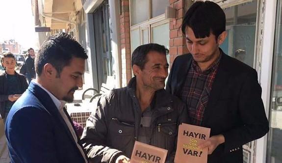 CHP'li gençler Kırka'da 'hayır'ı anlattı