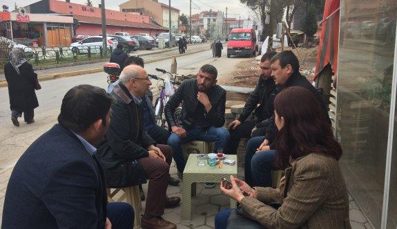 CHP'li Çakırözer'denUluönder esnafına 'Hayır' ziyareti