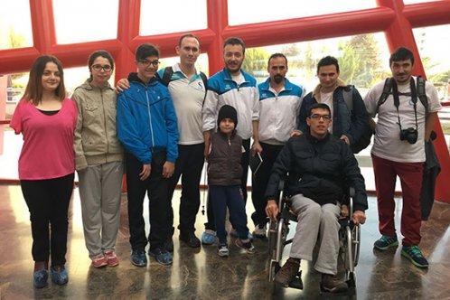 Engelli yüzücüler Eskişehir'in gururu oldu