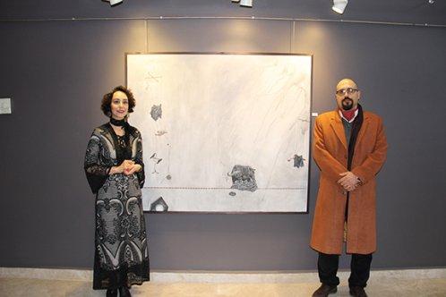 İranlı Jinoos Misaghi 'Evim Güzel Evim' Resim Sergisi Açıldı