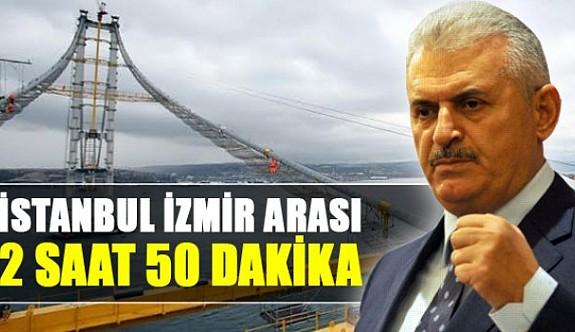 İzmir-İstanbul arası 2 saat 50 dakikaya iniyor
