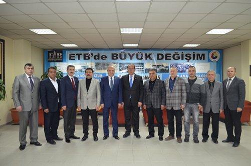 Karacan'dan Ticaret Borsası'na ziyaret