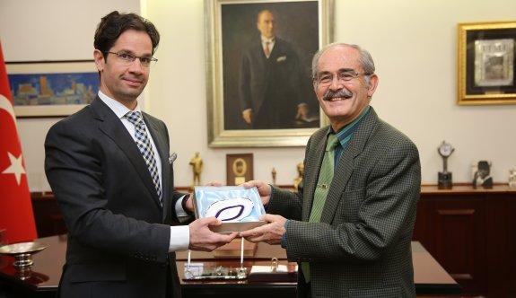 Macaristan Başkonsolosu'ndan Büyükerşen'e ziyaret