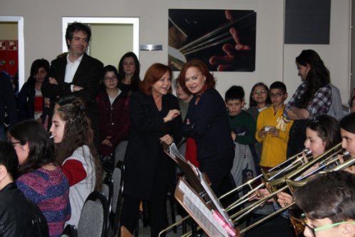 Pekinel Kardeşlerden Çocuk Senfoni'ye ziyaret