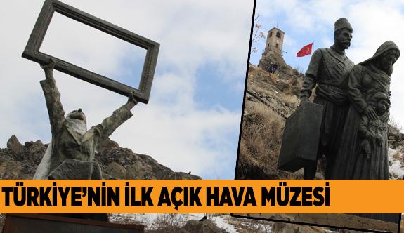 SİVRİHİSAR KAYALARINDAN SANAT FIŞKIRIYOR