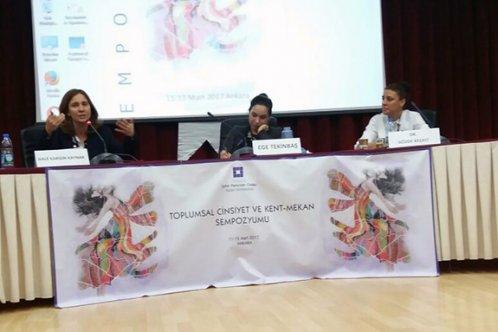Toplumsal Cinsiyet çalışmaları Ankara'da anlatıldı