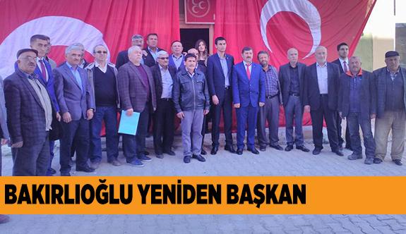 """BAKIRLIOĞLU, """"ÖNCE ATANMIŞTIM ŞİMDİ SEÇİLMİŞİM"""""""