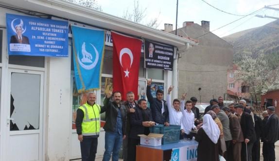 Alparslan Türkeş İnönü'de de anıldı