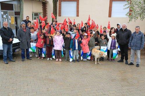 Odunpazarı'ndan Türkmentokat çocuklarına 23 Nisan hediyesi