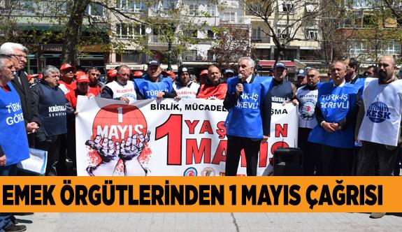 SENDİKALAR, 1 MAYIS'TA SIHHİYE'DE