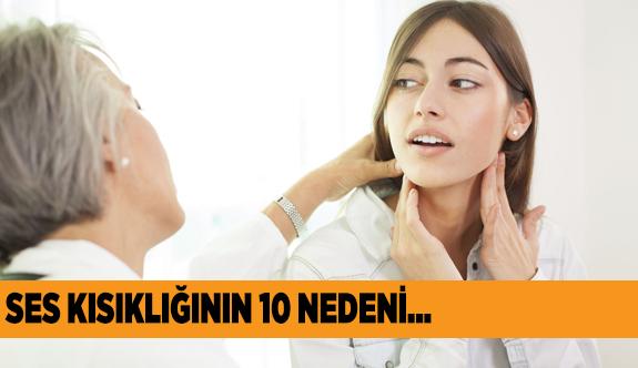 'SES KISIKLIĞI' DEYİP GEÇMEYİN!