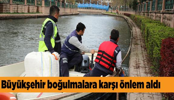 Su kenarlarında güvenlik önlemi