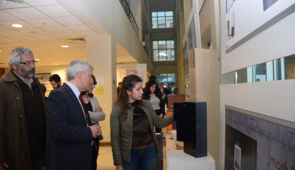 Anadolu Üniversitesi'nde Endüstriyel Tasarım Mezuniyet Sergisi