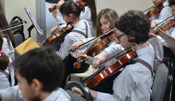 Çocuk Senfoni Orkestrası Fazıl Say için hazırlanıyor
