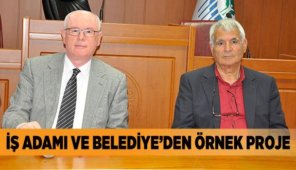 İŞ ADAMI VE BELEDİYE'DEN ÖRNEK PROJE