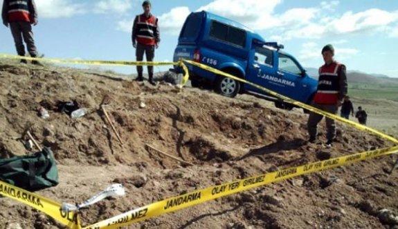 Kaçak kazı yapan 6 kişiye 2 bin 354 lira ceza
