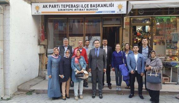 AK Parti Tepebaşı teşkilatı Ramazan buluşmalarına devam ediyor