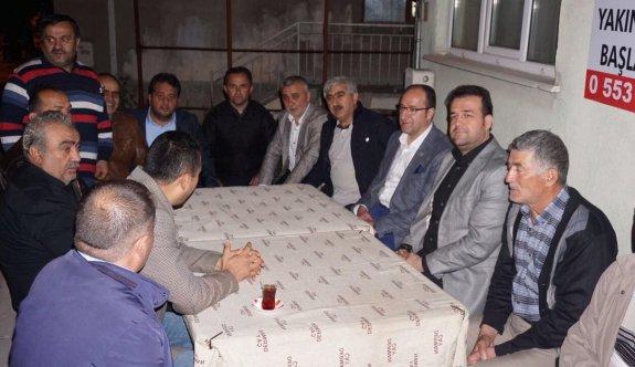 AK Parti'nin Tepebaşındaki iftarları devam ediyor
