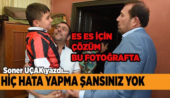 """""""BAŞKAN KİM OLMALI"""" SONER UÇAK YAZDI"""