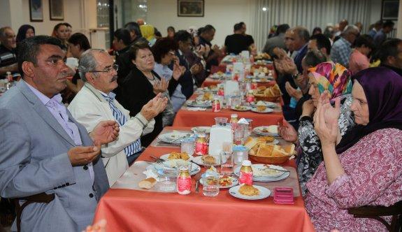 Büyükşehir'den Şehit ve Gazi ailelerine iftar