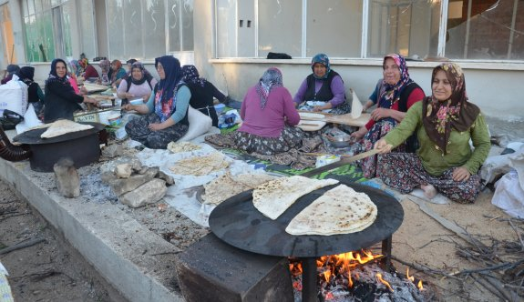 Günyüzü'nde imece usulü iftar