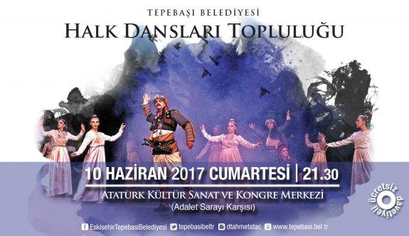 Halk Dansları Topluluğu'ndan ücretsiz gösteri