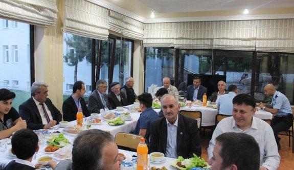 İnönü'de şehit aileleri ve gaziler iftar yemeğinde buluştu